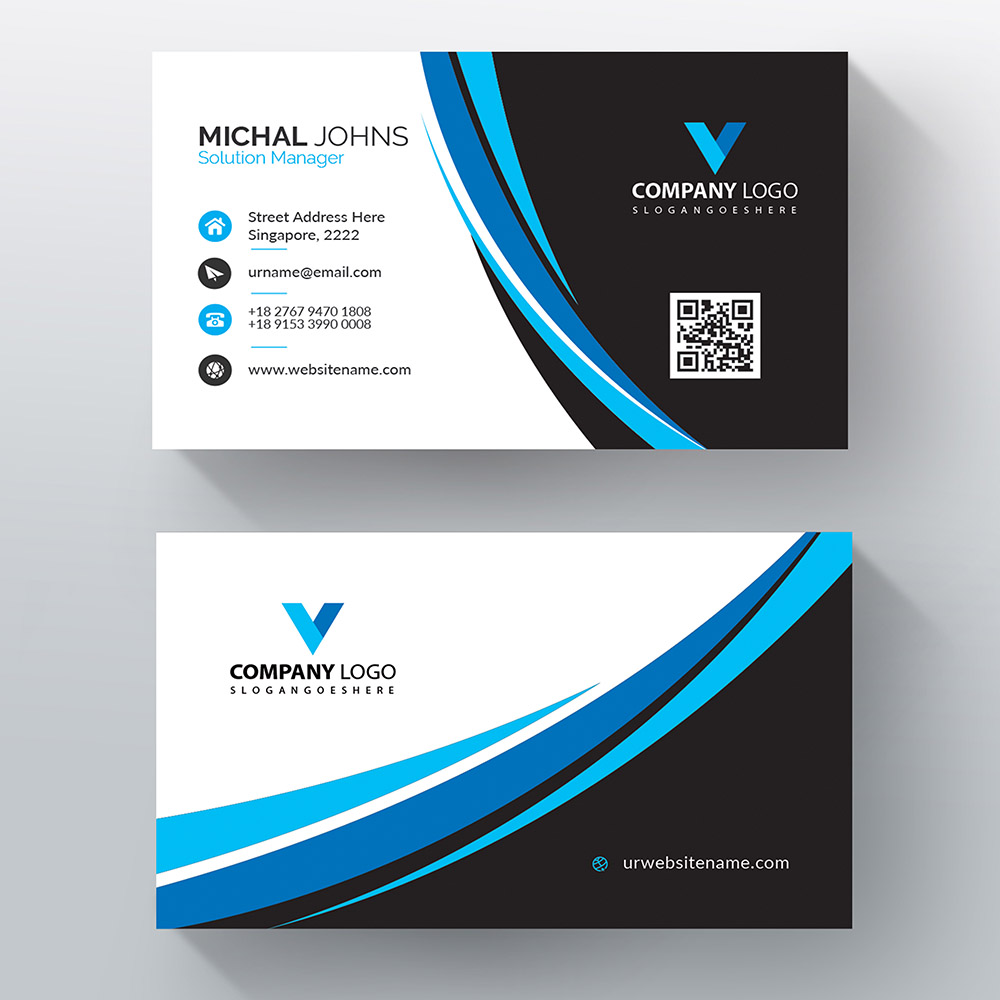 Business Cards - Advanced Options - Group as Panel