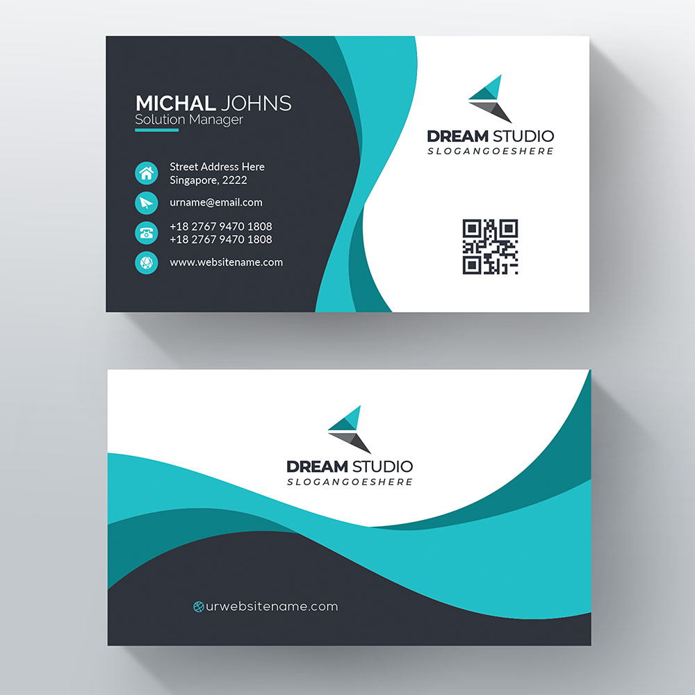 Business Card - with print option